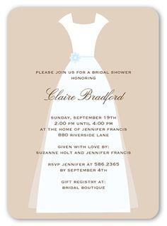 Wedding Couture 5x7 Invitation