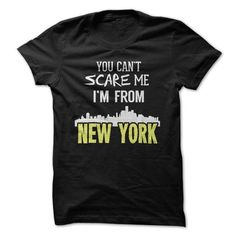 New York Can't Scare Me T Shirts, Hoodies. Check price ==► https://www.sunfrog.com/Names/New-York-Cant-Scare-Me.html?41382 $21.95
