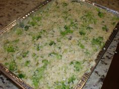 Meatless Monday: Broccoli, Rice & cheese casserole