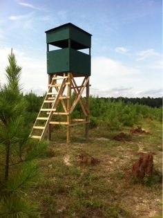 A Time to Hunt: Stand Up!!! 4x6 Deer Stand
