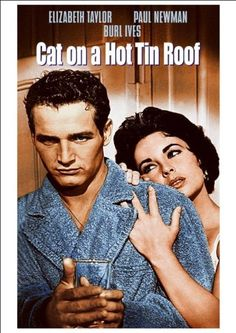 Fantastic A4 Glossy Print - 'Cat On A Hot Tin Roof' (2) - (Elizabeth Taylor & Paul Newman) - Taken From A Rare Vintage Movie / Film Poster by Unknown http://www.amazon.co.uk/dp/B00KKZMBMU/ref=cm_sw_r_pi_dp_g0wwvb026HCKH