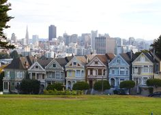 Painted Ladies, SFO by Sushanth  on 500px