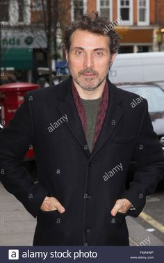 Rufus Sewell Pictured Arriving At The Radio 2 Studio Featuring Stock Photo, Royalty Free Image: 98568338 - Alamy