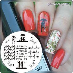Nagel Schablone BORN PRETTY Nail Art Stamp Stamping Template Plates BP71 in Beauty & Gesundheit, Maniküre & Pediküre, Nail-Art-Zubehör | eBay