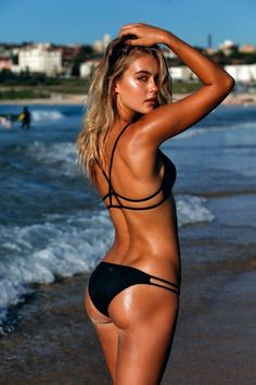 Black bikini, Steph Claire Smith for It's Now Cool