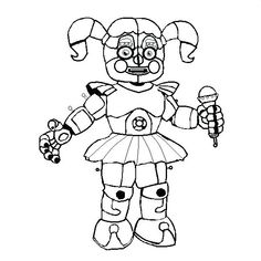 sister location five nights at freddy\'s coloring pages | 31 Best fnaf coloring pages images in 2019 | Fnaf coloring ...