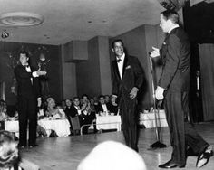 In late 1962, the Villa Venice Supper Club had newly reopened after renovations with canals, high trees, a ballroom, fountains, terraces where people could dine and dance, gondolas, a casino, and a revenue stream for Chicago mobster Sam Giancana, a personal friend of Sinatra.  Amongst accounts of difficult finances and/or Sinatra being in Giancana's debt for working the union vote in favor of JFK, Sinatra was asked to play at the club.