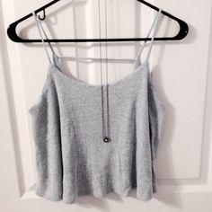Brandy Melville Dupe Flowy Tank Not a Brandy Melville Brand. This flowy top from Hanger 221 is breezy and beautiful. It gives the right amount of faded baby blue color to a colorless ensemble <3 Brand New without Tags. Shipping is every Monday & Thursday. Brandy Melville Tops