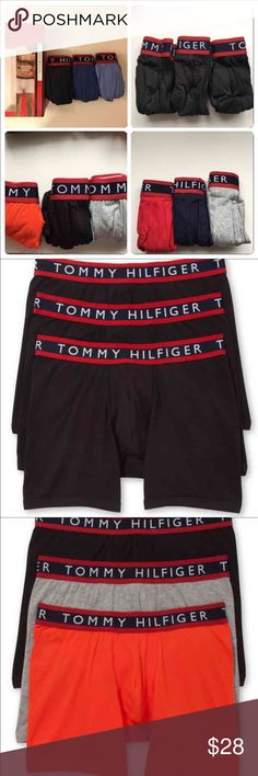 Tommy Hilfiger men underwear 3 pack Brand new boxer briefs Tommy Hilfiger Underwear & Socks Boxer Briefs