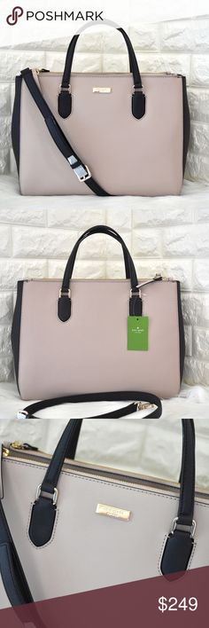 a5aa997959 💝Kate Spade Laurel Way Leighann ⭐️BRAND NEW WITH TAG. Dual leather handles  with