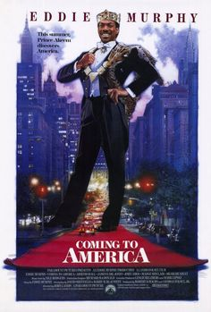 CAST: Eddie Murphy, Arsenio Hall, James Earl Jones, John Amos, Madge Sinclair, Shari Headley, Don Ameche, Louie Anderson, Paul Bates, Allison Dean, Eriq La Salle, Calvin Lockhart, Samuel L. Jackson, C