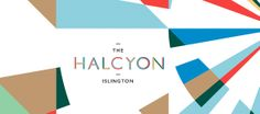 Poster / halcyon, type, pattern — Designspiration