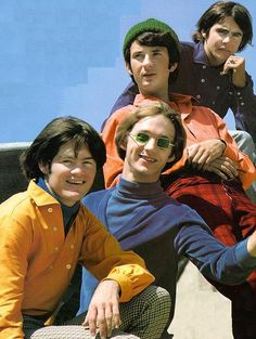 The Monkees-Peter was my heartthrob. Digging the green glasses darkly.