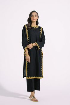 EMBROIDERED SUIT (E0137/103/902) | ETHNIC
