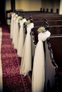 Výsledek obrázku pro výzdoba kostela na svatbu