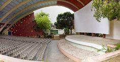 Impala Cinema, An Outdoors Cinema Theater, Namibe Town, Angola