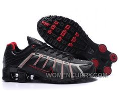 f3754d9f36f Men s Nike Shox NZ Shoes Black Grey Red Authentic