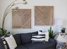 Wood Wall Art Geometric Wood Art Geometric Wall Art