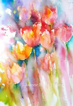 Joanne Boon Thomas   WATERCOLOR