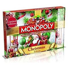 Monopoly Christmas Edition Limited By Winning Moves