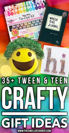 Looking for the perfect gift for your teen or tween?  Here's 35+ creative gift ideas they'll love for the holiday.  They'll scream when they open these crafty gifts!