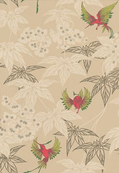 Grove Garden wallpaper by Osborne & Little