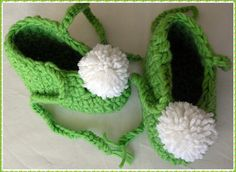 Tinker Bell Slippers: I want these for Cali's Halloween Costume!
