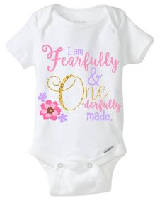 afe7bc64 Items similar to First Birthday, onesie, baby girl, Birthday shirt,  Onederful, Fearfully and Wonderfully Made, One on Etsy