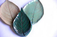 Leaf Ceramic Soap Dish, handmade pottery, leaf imprint, custom pottery, pottery soap dish, spoon rest, bathroom accent, kitchenware