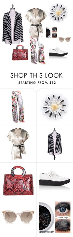 """ambience forecast: swelegant with a touch of florid and shimmering"" by tessjr ❤ liked on Polyvore featuring Loquet, Velvet by Graham & Spencer and Proenza Schouler"