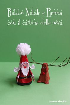 Christmas decorations from recycling egg cartons - Tutorial in .- Addobbi Natalizi da riciclo cartoni delle uova – Tutorial in italiano. Christmas decorations from recycling egg cartons Explanations in Italian - Preschool Christmas Crafts, Christmas Crafts For Kids To Make, Diy Gifts For Kids, Christmas Activities, Kids Christmas, Holiday Crafts, Teacher Ornaments, Disney Christmas Ornaments, Christmas Decorations