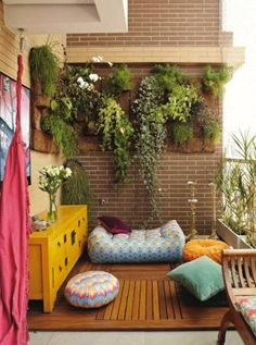 It's time to turn our decorating attention outdoors, people. Behold: 14 patios you could practically live on.
