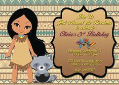 Cumpleaños de Pocahontas Pocahontas por AdrianMarieDesigns en Etsy