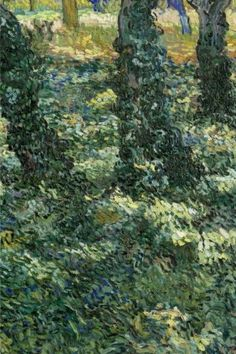 Undergrowth, Vincent van Gogh: Journal (notebook, composition book) 160 Lined / ruled pages, 6x9 inch (15.24 x 22.86 cm) Laminated by Studio Beeker http://www.amazon.com/dp/1519476434/ref=cm_sw_r_pi_dp_EfAFwb01SV50N