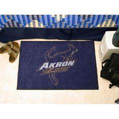 Akron Zips NCAA Starter Floor Mat (20x30)