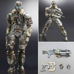 It's The Dead Space 3 Play Arts Kai Figure - Isaac Clarke. Crashing into the Play Arts Kai line is engineer and unlikely space warrior Isaac Clarke as he appears in his latest adventure! Dead Space 3