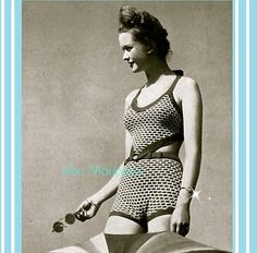 Hey, I found this really awesome Etsy listing at https://www.etsy.com/listing/232016185/crochet-pattern-vintage-40s-crochet