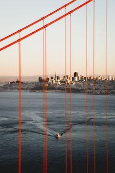 San Francisco Feelings - In between the lines by @adrianskyyy