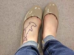 29 Incredibly Badass Shark Tattoos Every Girl Would Want