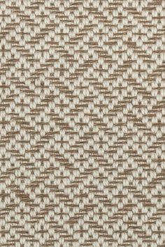 Tweed wool & sisal rug in Ginger colorway, by Merida.