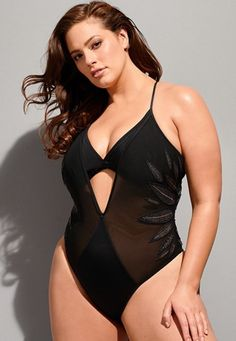 c70e2bd39876d Ashley Graham x Swimsuits For All Ritzy Swimsuit. Ashley GrahamSwimsuits For  AllWomen's One Piece SwimsuitsPlus Size SwimsuitsSale Of The DayPutting ...