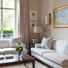 lovely classic welcoming living room, London period home | House tour | Homes & Gardens | Housetohome | PHOTOGALLERY