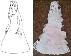 A Wife for Isaac. Decorating Rebekah's wedding dress