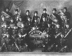 Ladies Imperial Band from Bozeman, Montana 1905
