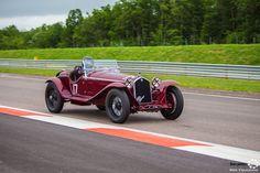 #Alfa_Romeo #8C #Zagato au Grand Prix de l'Age d'Or. #MoteuràSouvenirs Reportage complet : http://newsdanciennes.com/2016/06/06/jolis-plateaux-beau-succes-grand-prix-de-lage-dor-2016/ #ClassicCar #VintageCar