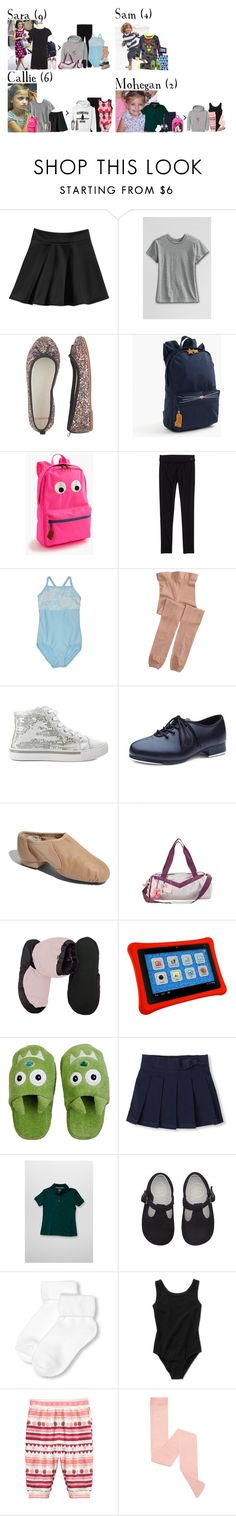 """""""Thursday // School, Book Fair, Activities & Baking // 12/1/16"""" by graywolf145 ❤ liked on Polyvore featuring Lands' End, J.Crew, Capezio, Bloch Dance, Bloch, Petit Lem, Yikes Twins, French Toast, Danskin and GrayWolfFamily"""