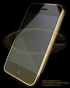 #Gold Apple iPhone    repin .. comment .. share