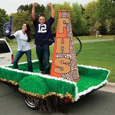 megaphone for parade float | Anderson's >> School Spirit >> Parade Floats >> Float Kits ...