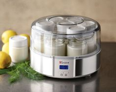 great yogurt maker. I make my own yogurt with Kefir instead of the starter. easy to make.