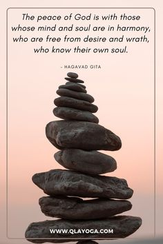 The peace of God is with those whose mind and soul are in harmony, who are free from desire and wrath, who know their own soul. John 8 7, Cast The First Stone, Peace Of God, Wonder Quotes, Yoga Quotes, Mindfulness, Beautiful, Free, Consciousness